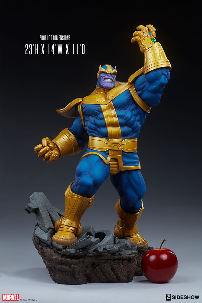 Sideshow Collectibles - Marvel - Avengers Assemble - Thanos Statue (Classic Ver.)