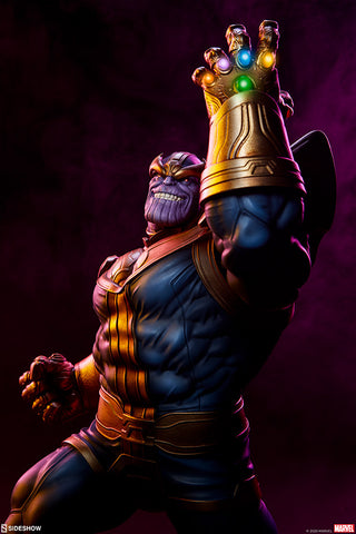 Sideshow Collectibles - Marvel - Avengers Assemble - Thanos Statue (Modern Ver.)