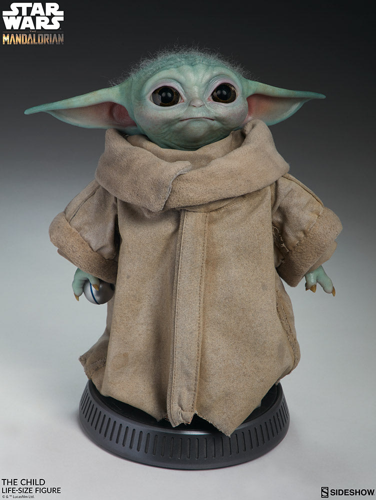 Sideshow Collectibles - Life-Size Figure - Star Wars: The Mandalorian - The Child (Baby Yoda)