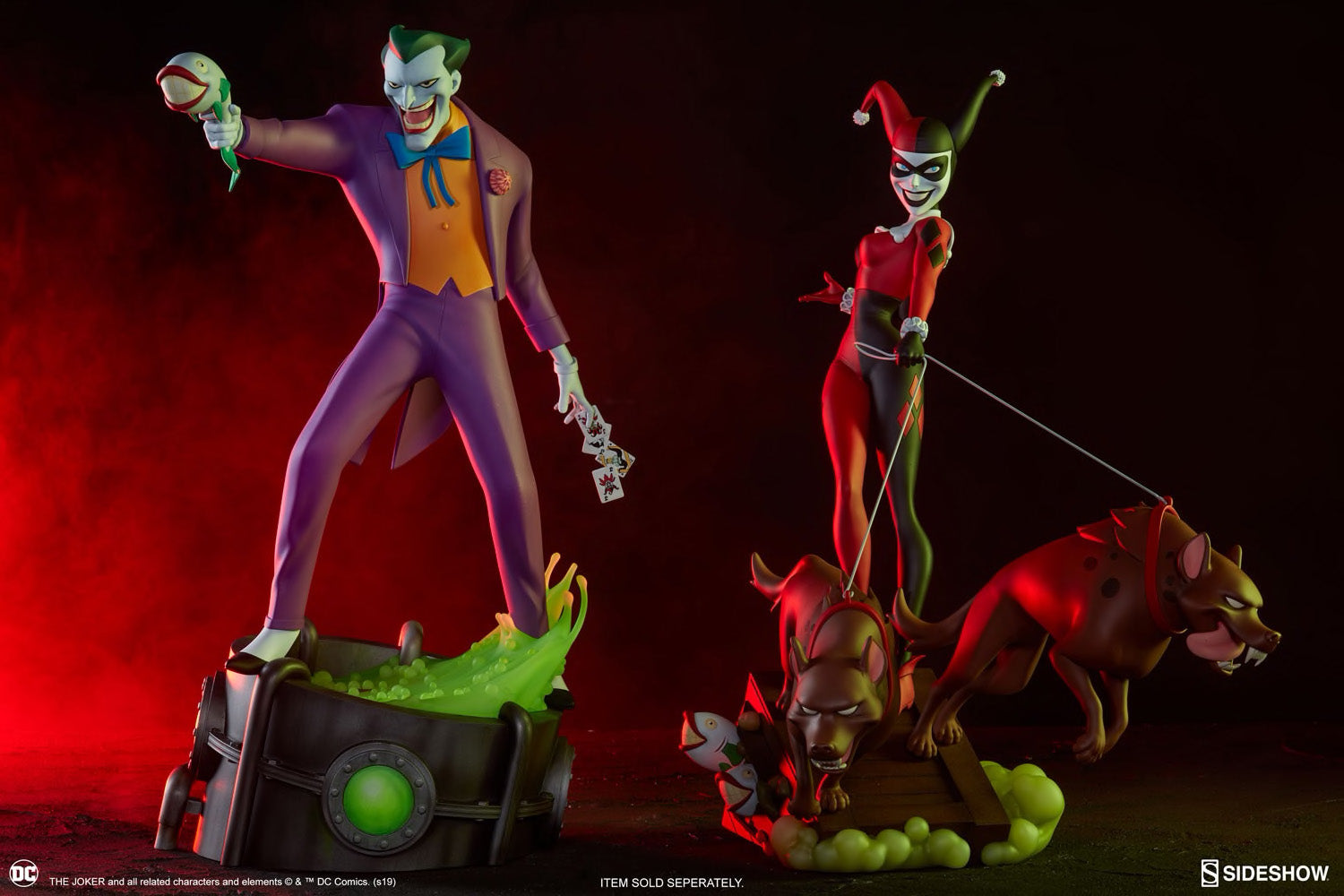 Sideshow Collectibles - Animated Series Collection - DC - The Joker
