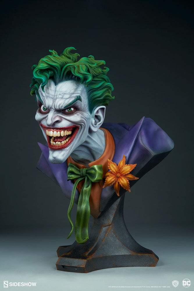 Sideshow Collectibles - Life-Size Bust - DC Comics - The Joker