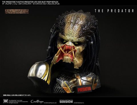 Sideshow Collectibles x CoolProps - Life-Size Bust - The Predator - Fugitive Predator
