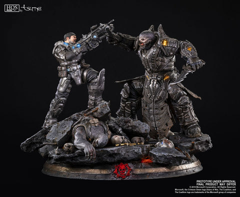 Tsume - HQS+ - Gears of War - Marcus Fenix vs General RAAM (1/5 Scale)