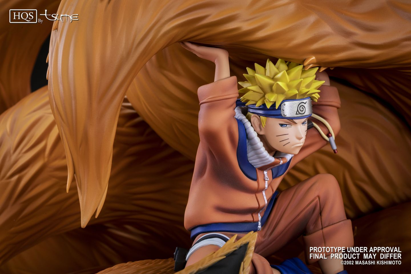 Tsume - HQS - Naruto - Naruto & Kyubi (Linked by the Seal) (1/8 Scale)