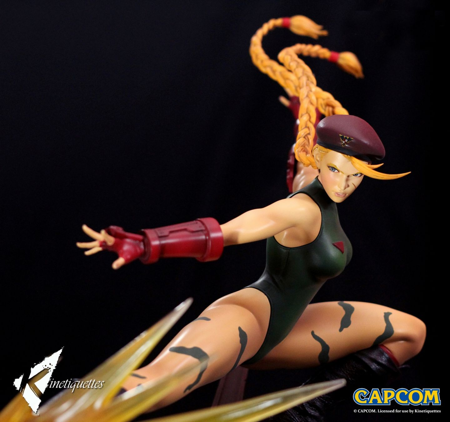 Kinetiquettes - Femmes Fatale - Ultra Street Fighter IV - Cammy White 1/6 Scale Diorama
