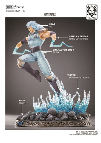 Tsume - HQS - Hokuto no Ken (Fist of the North Star) - Rei