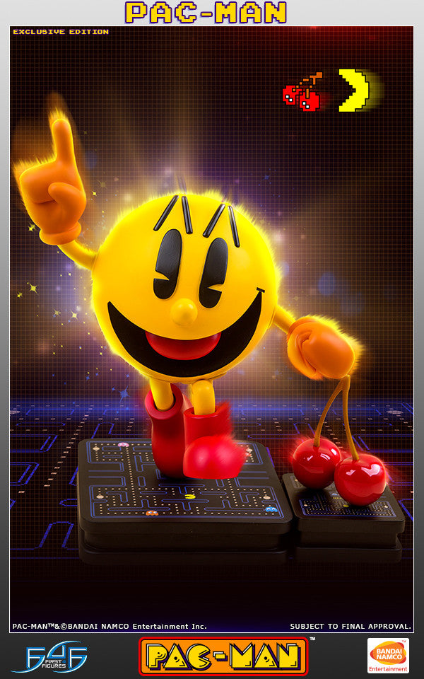 "First 4 Figures - 17"" Pac-Man Statue (Exclusive Edition) - Marvelous Toys - 1"