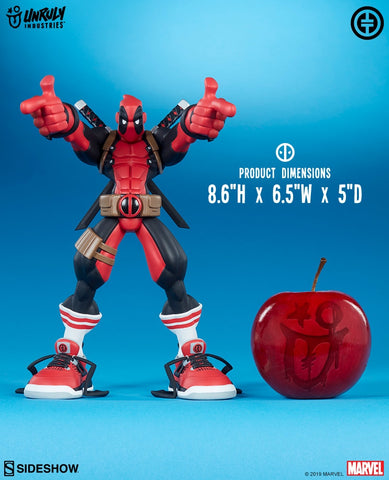 Sideshow Collectibles - Unruly Industries - Marvel - Wade Wilson (Deadpool) by Tracy Tubera