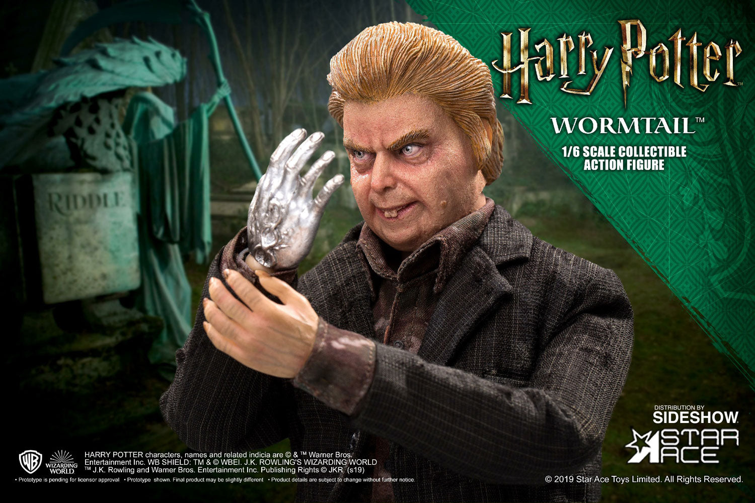 Star Ace Toys - Harry Potter and the Goblet of Fire - Peter Pettigrew (Wormtail) (Deluxe) (1/6 Scale)