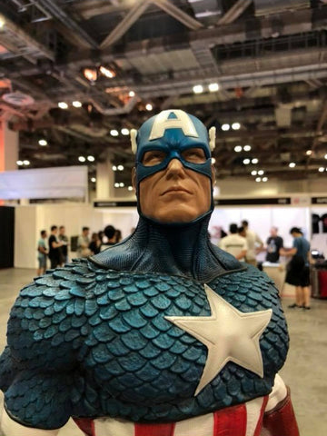 XM Studios - Marvel Impact Series - Captain America (1/4 Scale)
