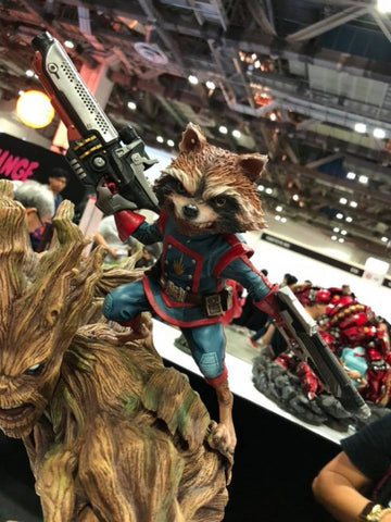 XM Studios - Marvel Premium Collectibles - Rocket and Groot (1/4 Scale)
