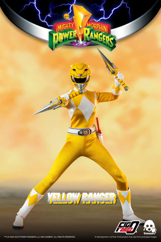 Threezero - Mighty Morphin Power Rangers - Yellow Ranger (1/6 Scale)