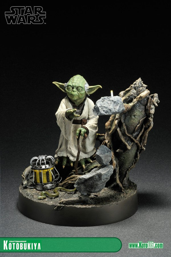 Kotobukiya - ARTFX+ - Star Wars: The Empire Strikes Back - Yoda (1/7 scale) - Marvelous Toys - 5
