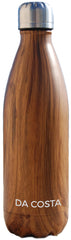 wood grain stainless steel bottle