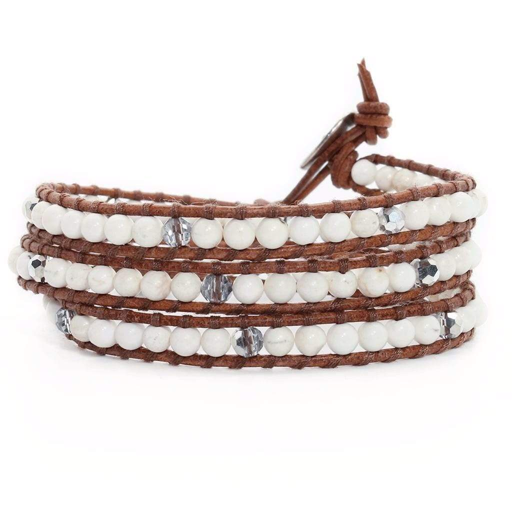 Calming & Intuition - Triple Wrap Bracelet/Anklet