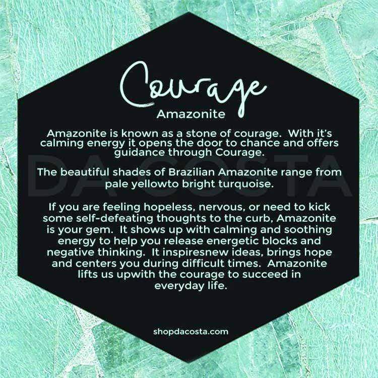 Amazonite Stone - Courage