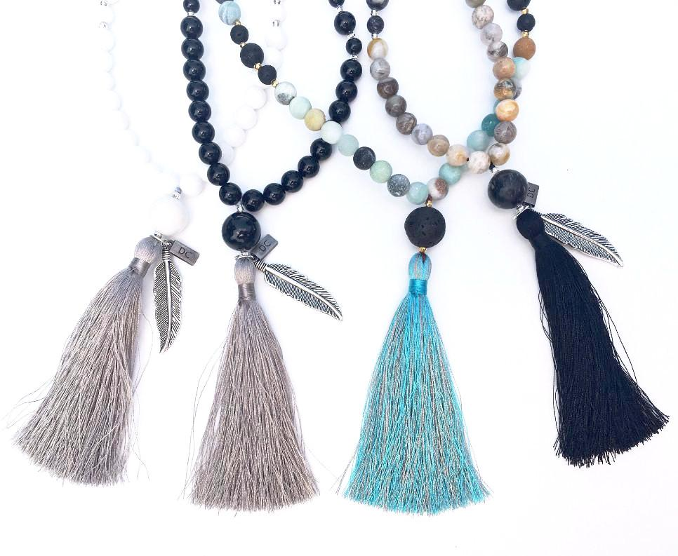 Mala Necklace - Black Onyx