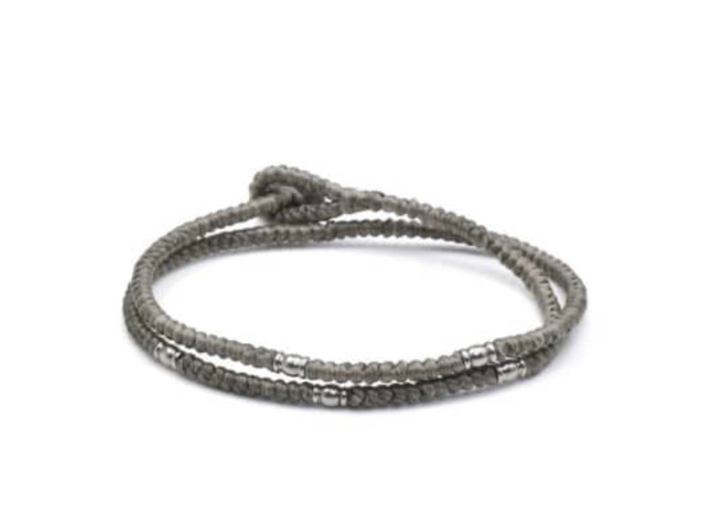 Cotton Double Wrap Bracelet