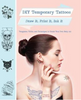 DIY Temporary Tattoos: Draw It, Print It, Ink It