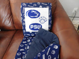 Penn State Universary Quillow - Made on request