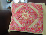 Quillow/Pillow/Lap Quilt/Lap throw - The Paisley Folded Star Quillow