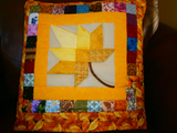 Quillow/Lapquilt/Throw - Autumn Splendor - Yellow