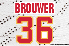 Troy Brouwer #36