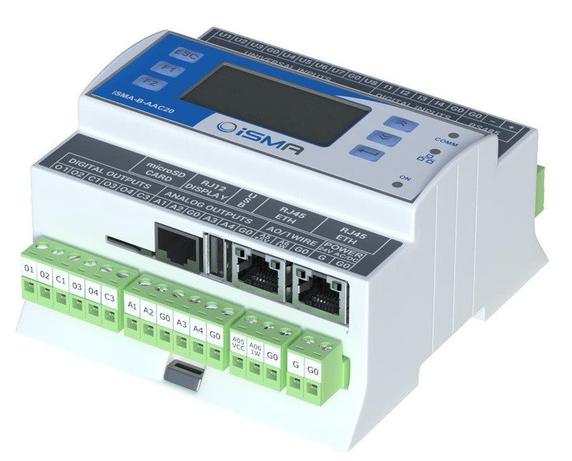 The most cost effective and compact AHU control solution
