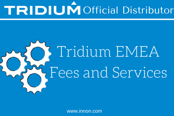 Tridium EMEA Fees and Services
