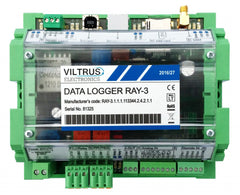 Ray 3 with Modbus (RS485) + M-Bus +3G + 4 x Discrete IN + battery backup +  SD card slot
