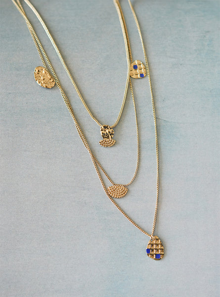 Collier Vestiges triple