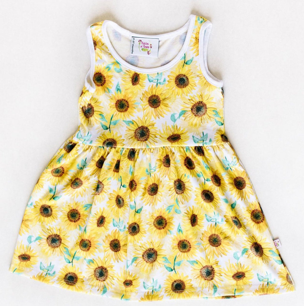 Sunflower Play Dress