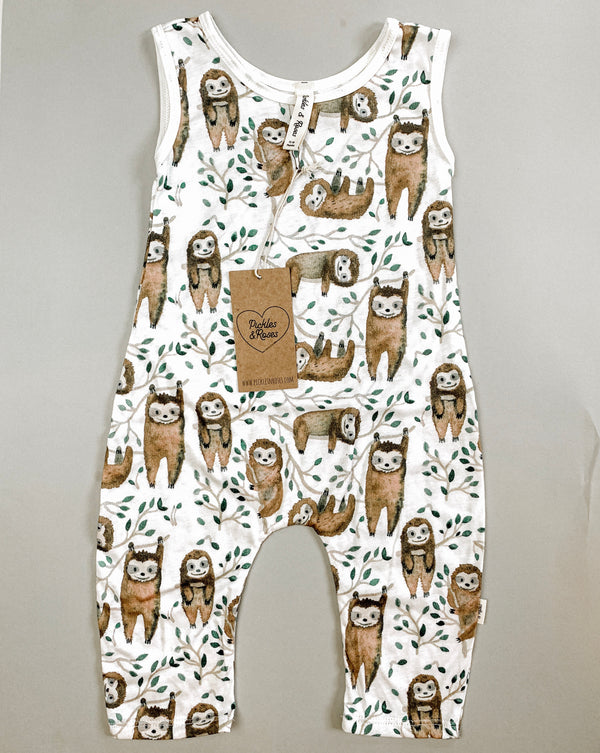 The Sloth Playsuit