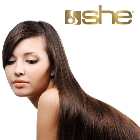 Extension She. Prolungamento capelli veri 100% naturali