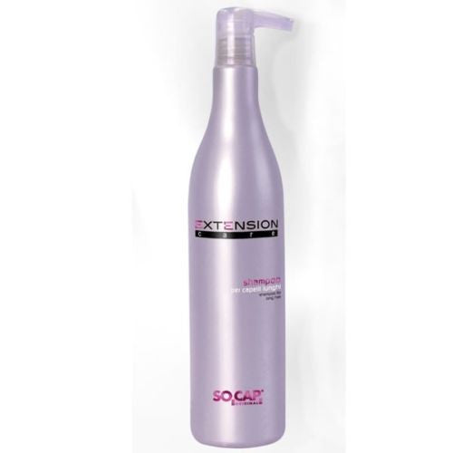 Shampoo specifico per capelli lunghi 500 ML. Prodotto professionale. Socap Extension Care