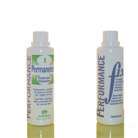 KIT PERMANENTE MONODOSE PROFESSIONALE FARMAGAN 2 FLACONI DA 85 ML