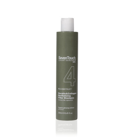 REVITALIZING FILLER SHAMPOO rigenerante con collagene e cheratina 250 ml