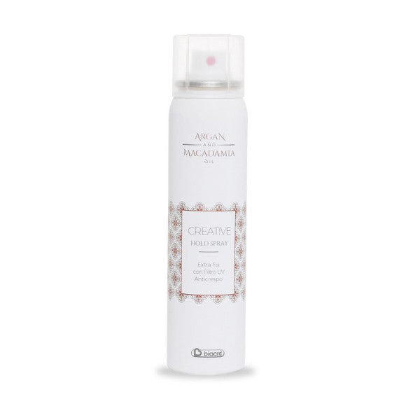 CREATIVE HOLD SPRAY HYDRATING ANTICRESPO FILTRO UV Argan e Macadamia Biacrè
