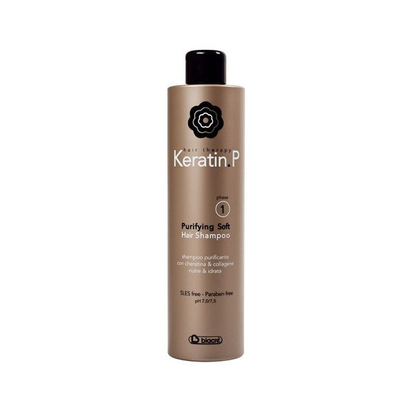 SHAMPOO PURIFICANTE PROFESSIONALE PURIFING SOFT HAIR KERATIN P. 500 ML BIACRE'