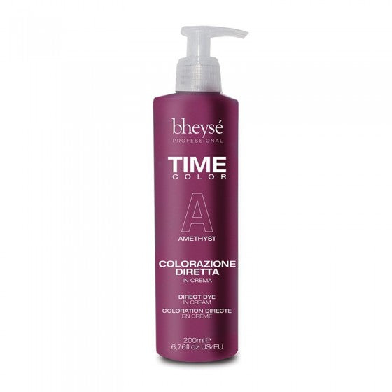Crema colore semipermanente TIME COLOR 200 ml BHEYSE' PROFESSIONAL