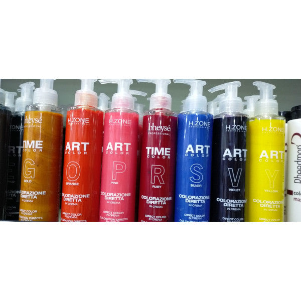 Crema colore semipermanente ART COLOR 200 ml H.Zone