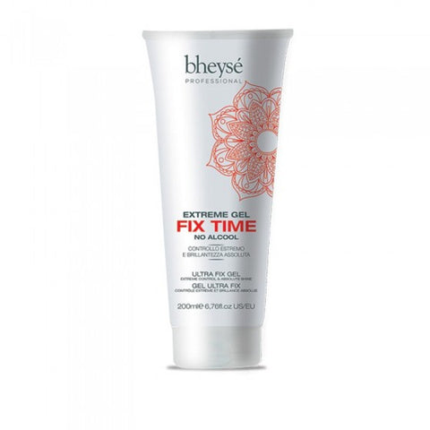 Extreme Gel capelli Fix TIME NO ALCOOL 200 ml BHEYSE' PROFESSIONAL