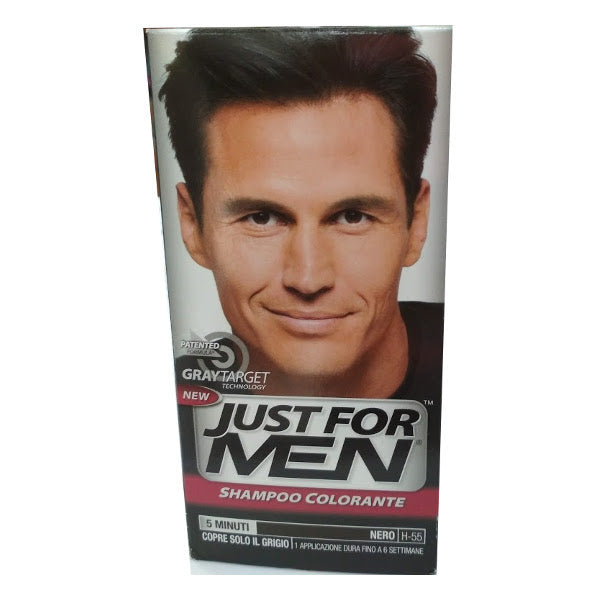 JUST FOR MEN - Shampoo Colorante Nero