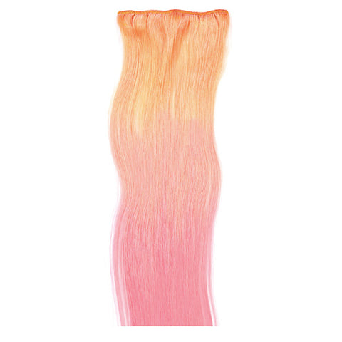 1 fascia extension 3 clip Easy 3D Pink Rose 55-60 cm Di Biase Hair