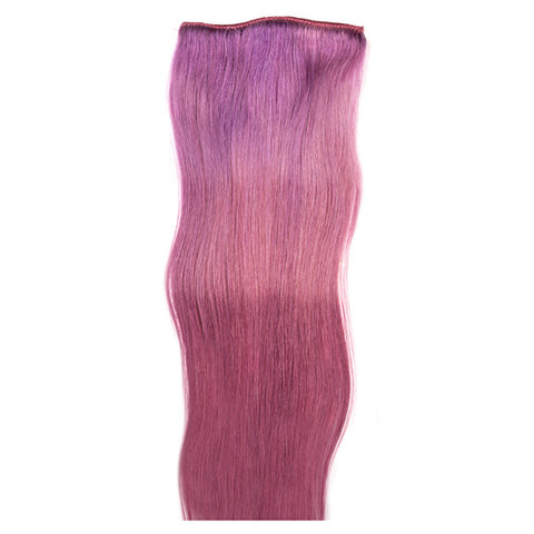1 fascia extension 3 clip Easy 3D Purple Heart 55-60 cm Di Biase Hair