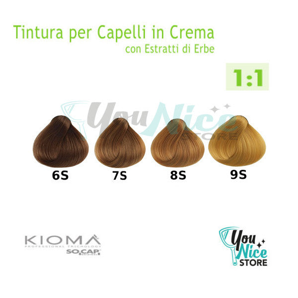 Hair Cream Color - Socap Kiomà tintura tubo 100ml