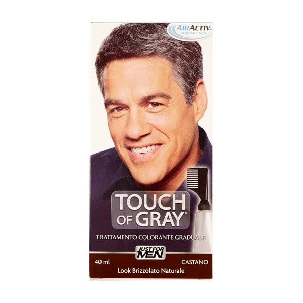 JUST FOR MEN - Trattamento Colorante Touch Of Gray Castano