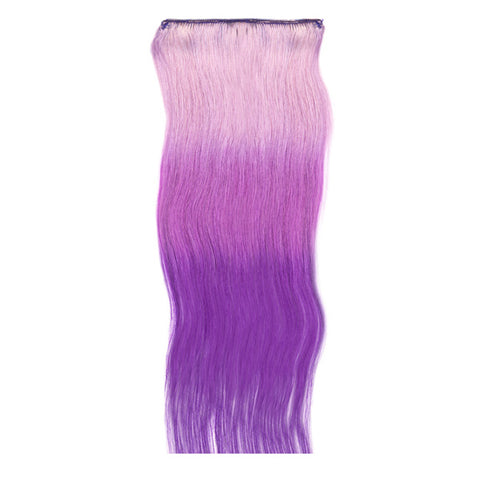 1 fascia extension 3 clip Easy 3D Violet Night 55-60 cm Di Biase Hair