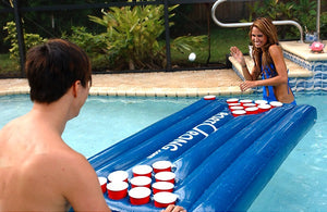 Summer pool beer pong!