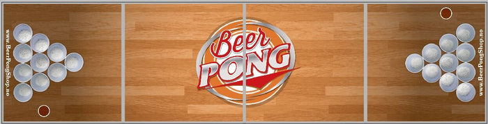 Beer Pong Bord - Original Wood